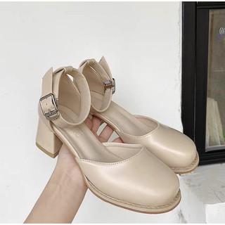 Giày phong cách vintage Hàn Quốc sale 199k