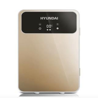 Tủ lạnh mini di động xe hơi ô tô Huyndai 20L màn hình LCD điều chỉnh độ