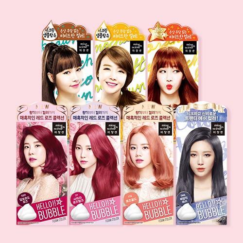 Thuốc nhuộm tóc dạng bọt Mise En Scene Hello Bubble Foam Color - 9969930 , 350708979 , 322_350708979 , 250000 , Thuoc-nhuom-toc-dang-bot-Mise-En-Scene-Hello-Bubble-Foam-Color-322_350708979 , shopee.vn , Thuốc nhuộm tóc dạng bọt Mise En Scene Hello Bubble Foam Color