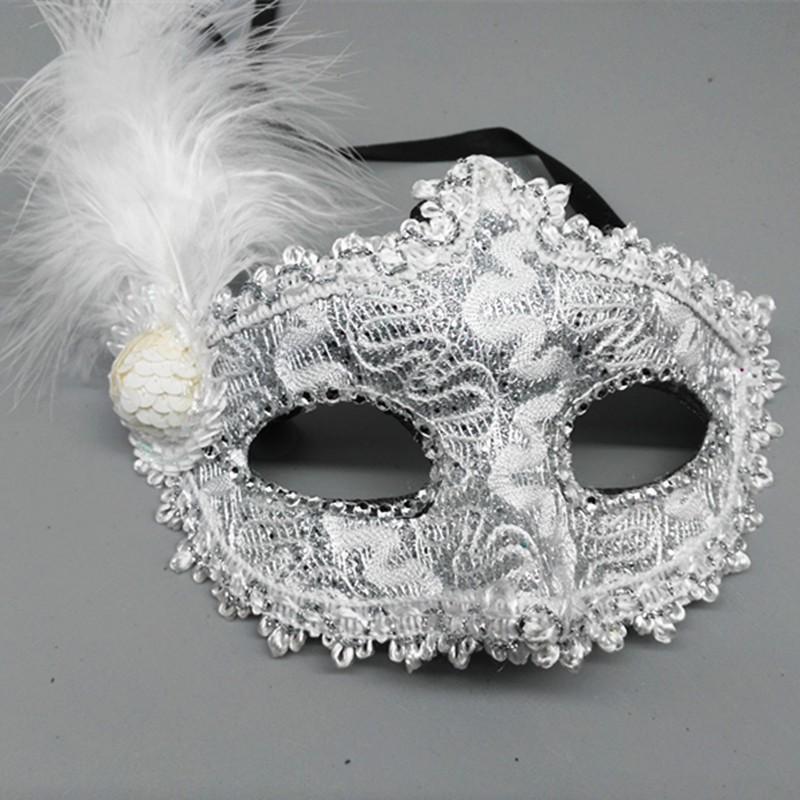 mặt nạ hóa trang- mặt nạ lông vũ rẻ như cho