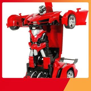 Xe hơi điều khiển từ xa biến hình thành robot Transfomers (219)