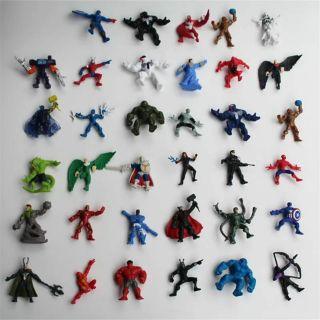 Bộ 30 mô hình đồ chơi siêu nhân mỹ
