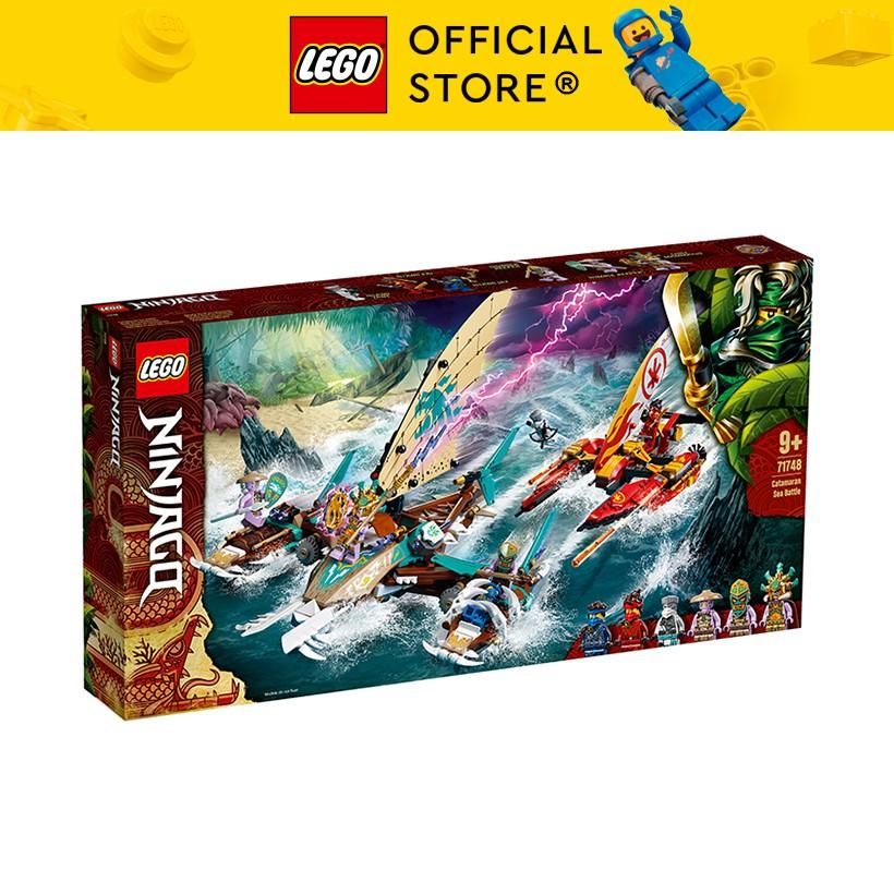 LEGO NINJAGO 71748 Trận Chiến Trên Biển Catamaran ( 780 Chi tiết)