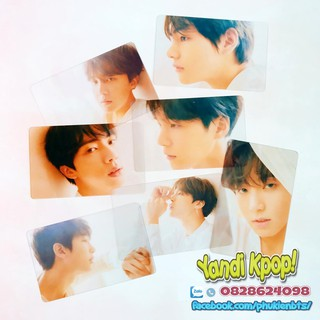 Card Trong Suốt BTS, Hình Ảnh Album Love Yourself Answer Ver F