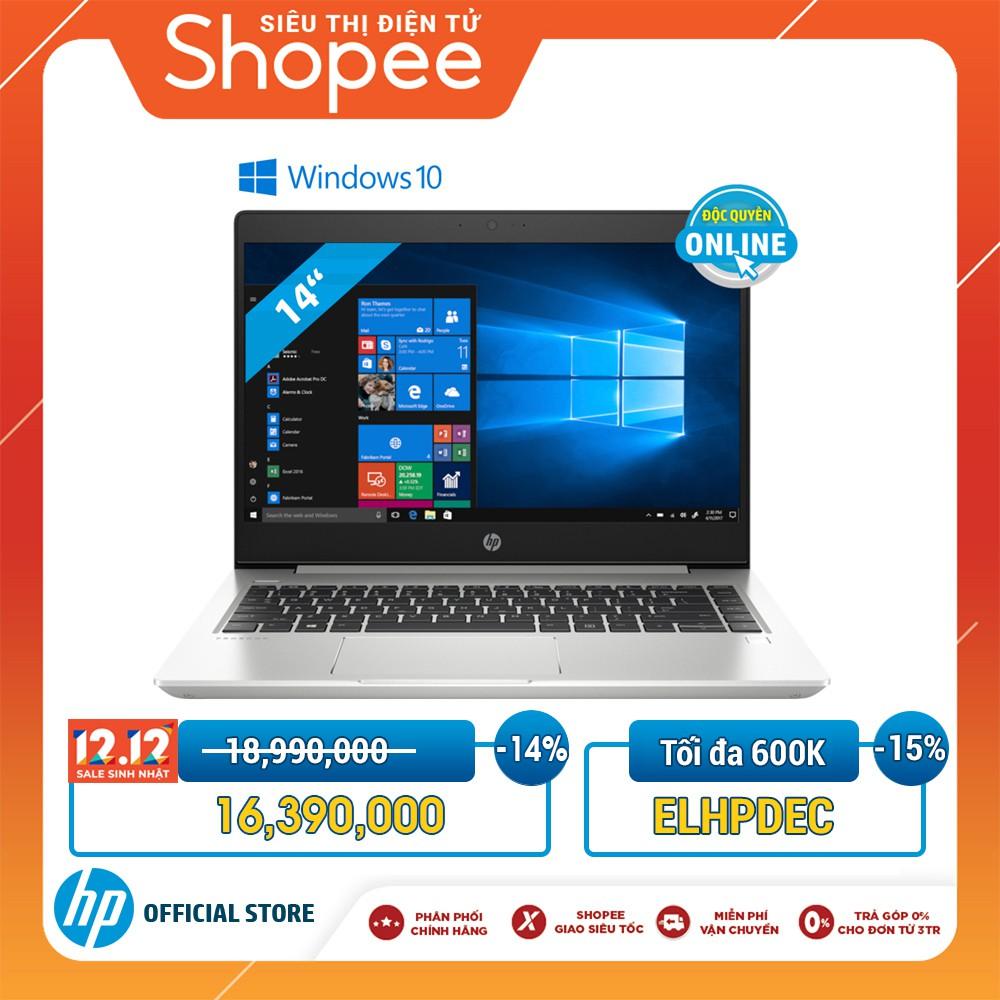[Mã ELHPDEC giảm 15%]Laptop HP ProBook 440 G6(Intel Core i5/WIN10/ 256GB SSD/8GV31PA _ Hàng chính hãng