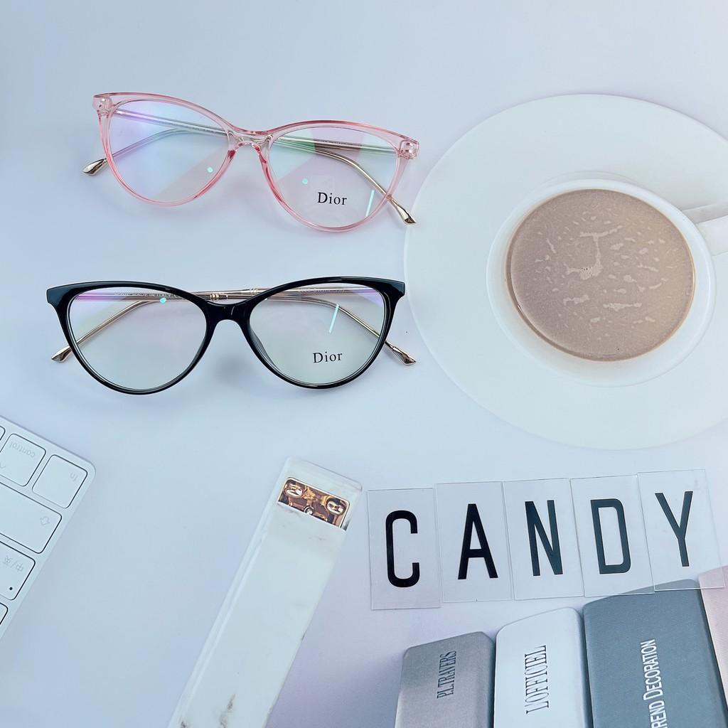 Gọng kính mắt mèo kim loại 5029 – Tiệm kính Candy