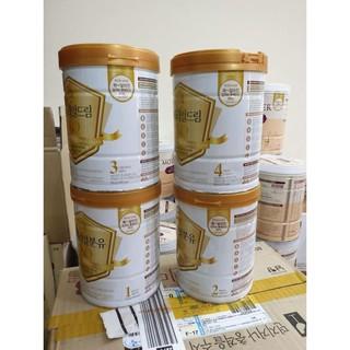 Sữa XO [Trẻ Phát Triển Toàn Diện 100%- Hàng Auth] Sữa bột Namyang XO số 1 nội địa Hàn 800g