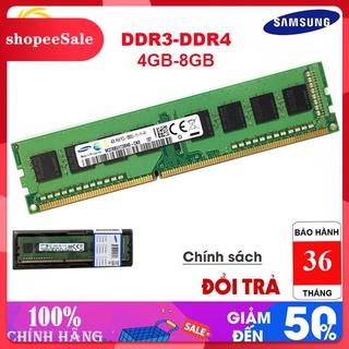 (Hàng Mới Về) KHông Chính Hãng Hoàn Tiền Ram PC Samsung.HyNix, Indilinx DDR3 4Gb-Buss 1600-Bh 36T thumbnail