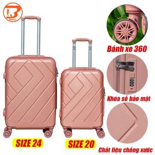 vali du lịch bamozo 8815 vali size20 size 24 vali nữ và nam vali mini vali nhỏ vali kéo nhựa vali xách tay thumbnail