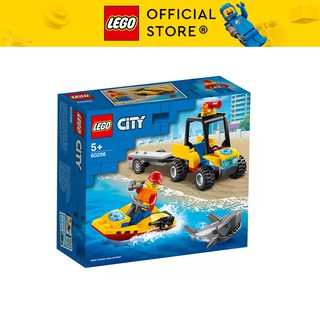 LEGO CITY 60286 Xe Và Cano Cứu Hộ Biển ATV ( 79 Chi tiết) Bộ gạch đồ chơi lắp ráp xe đua