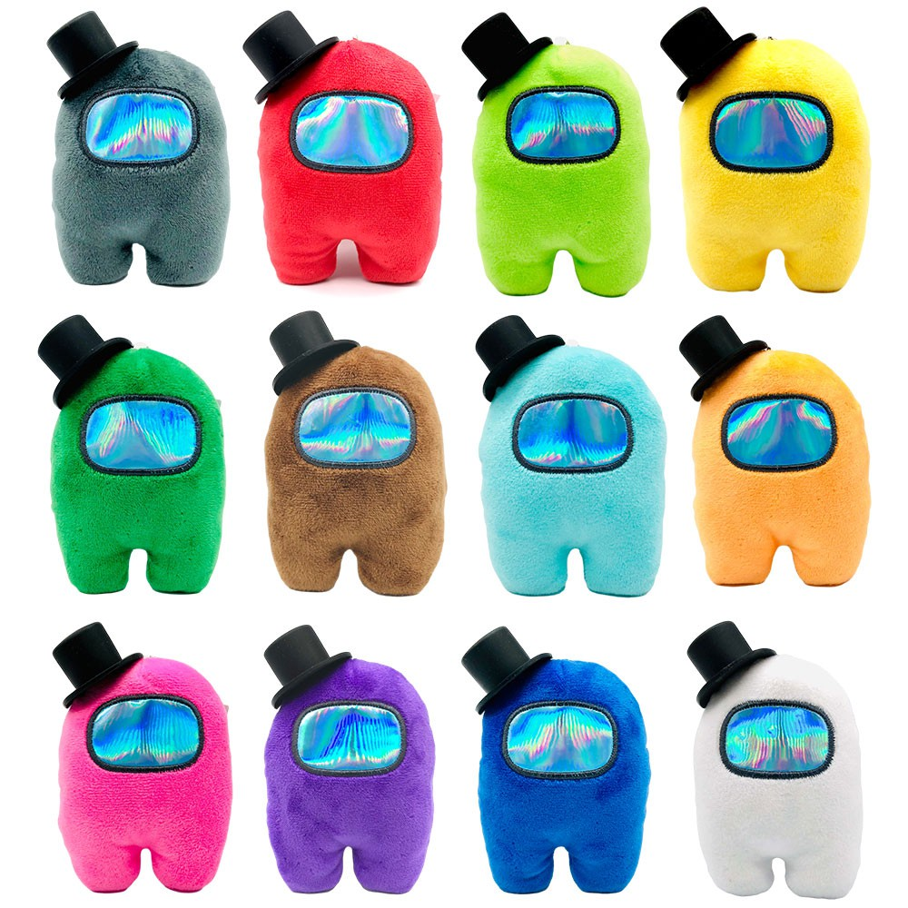 New Among us hat Plush toy doll space animation game peripheral pendant Magic Among us Hat