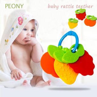 Đồ chơi lục lạc hình trái cây dành cho bé đang mọc răng
