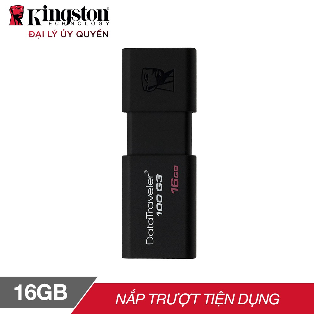 USB Kingston DT100G3 16GB / USB 3.0 - Hãng phân...