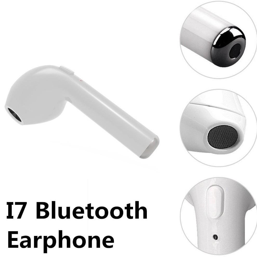 Top1 Tai nghe bluetooth dành cho iPhone X 8 7 6 6S Plus Samsung Phone I7