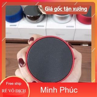 [Mã ELFLASH5 giảm 20K đơn 50K] Loa Bluetooth Mini BS01 Vỏ Kim Loại, Âm Thanh Hay(Có Khe Cắm Thẻ Nhớ, Cổng 3.5)