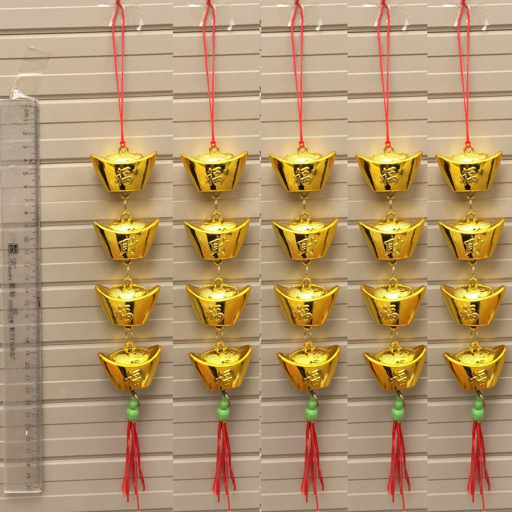 Combo 5 Dây thỏi vàng trang trí Tết - 3334378 , 894366583 , 322_894366583 , 49000 , Combo-5-Day-thoi-vang-trang-tri-Tet-322_894366583 , shopee.vn , Combo 5 Dây thỏi vàng trang trí Tết