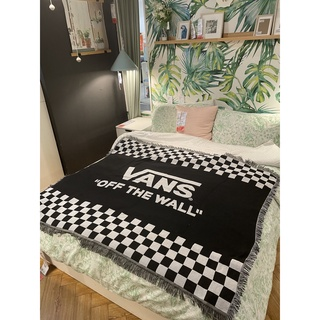 [RẺ – SẴN]Chăn thảm đa năng trải sàn,sofa,treo tường dệt sợi VANS