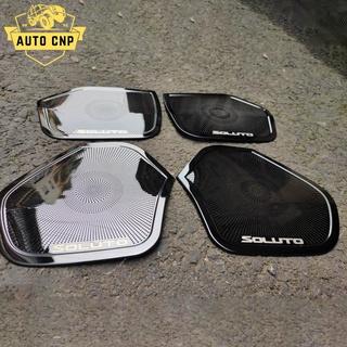 Ốp màng loa cho xe KIA SOLUTO chất liệu thép mạ TITAN, bảo vệ khu vực loa sạch sẽ không bụi bặm AUTO CNP thumbnail
