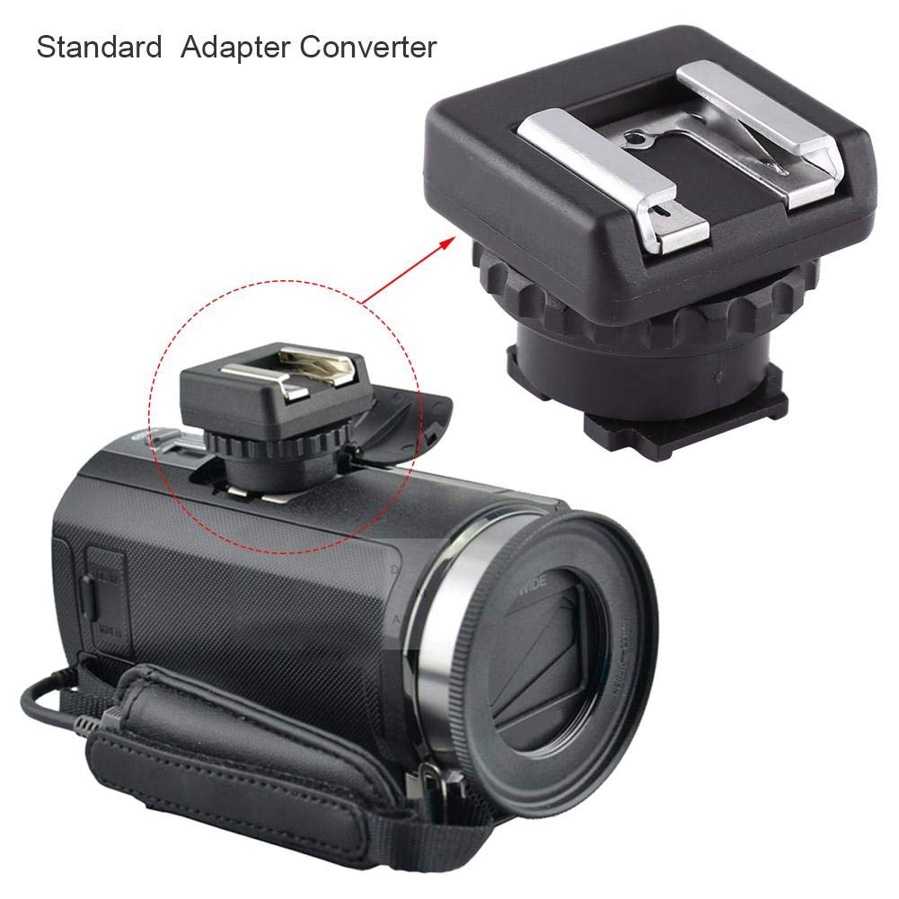 Multi Interface Shoe Mount Converter Standard Video Mini DV Camcorder For Sony