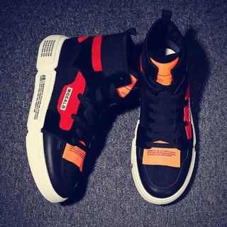 cao giúp vải giày nam aj1 Hàn Quốc phiên bản xu hướng chic casual giày của nam g