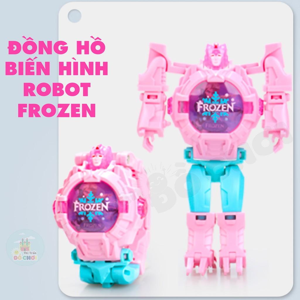 Đồ chơi đồng hồ đeo tay biến hình công chúa El.sa đáng yêu cho bé - ZL8525BX - Thị trấn đồ chơi