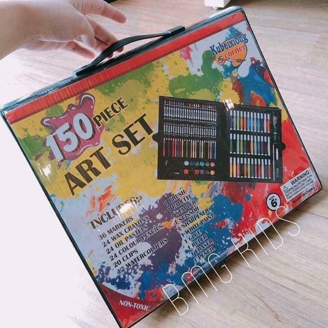 Set hộp bút màu 150 chi tiết