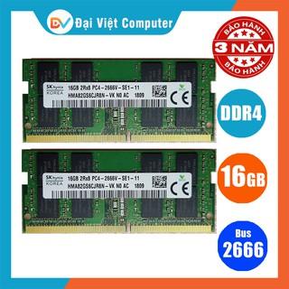 Ram laptop 16GB 8GB 4GB DDR4 bus 2666 MHz (hãng ngẫu nhiên) samsung hynix kingston …
