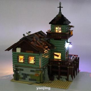 LED Light Kit Durable Easy Install Gift Kids For Lego 21310 Old Fishing Store