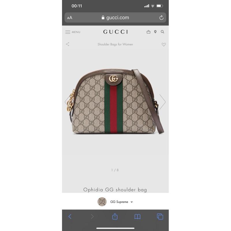 Túi hến Gucci