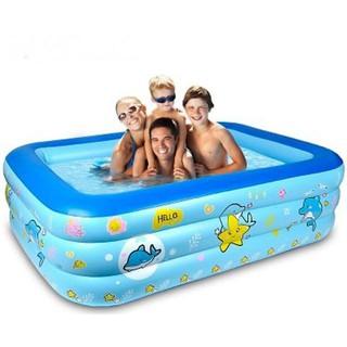 [Sỉ] [Mã TOYNOV giảm 10% tối đa 15K đơn từ 50K] Bể bơi phao 3 tầng cho bé [Size 160/150/130/120 cm] – Tặng