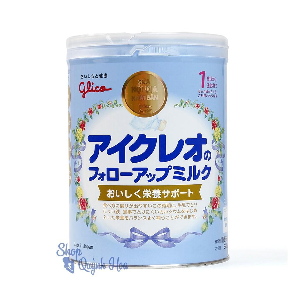 Sữa Glico số 1-3 (số 9), 820g (hàng nhập khẩu), HSD: 4