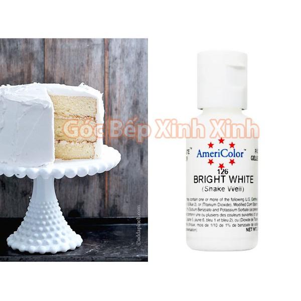 Màu thực phẩm trắng sáng Bright White - Mỹ 0.7oz (21gr) - 2775418 , 1289293481 , 322_1289293481 , 68000 , Mau-thuc-pham-trang-sang-Bright-White-My-0.7oz-21gr-322_1289293481 , shopee.vn , Màu thực phẩm trắng sáng Bright White - Mỹ 0.7oz (21gr)