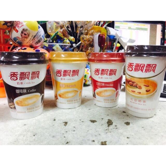 Sỉ 30 cốc trà sữa Ngôn tình Xiang Piao Piao- Mix 6 vị tuỳ chọn