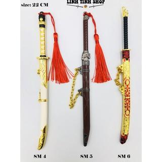 Móc khóa kiếm Swordsman X - PUBG kiếm hiệp
