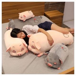 Gấu Bông Lợn Sữa Tim Siêu to Khổng Lồ Hàng nhập thumbnail