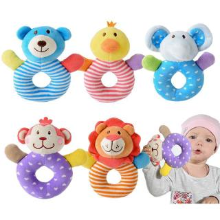Baby Toy Rattle Plush Cloth Baby Grip Toy