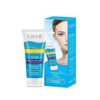 Sữa rửa mặt dưỡng da ngừa mụn Crevil Total Repair Q10 Face Wash Gel 200ml thumbnail