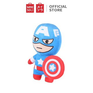 Thú bông Miniso Marvel 101g (Captain America) - Hàng chính hãng