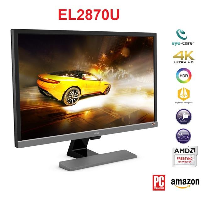 [Mã ELXILI giảm 10% đơn 100K] Màn hình BenQ EL2870U 28 inch 4K QHD 3840 x 2160 1ms 60Hz TN Freesync Speaker 2Wx2