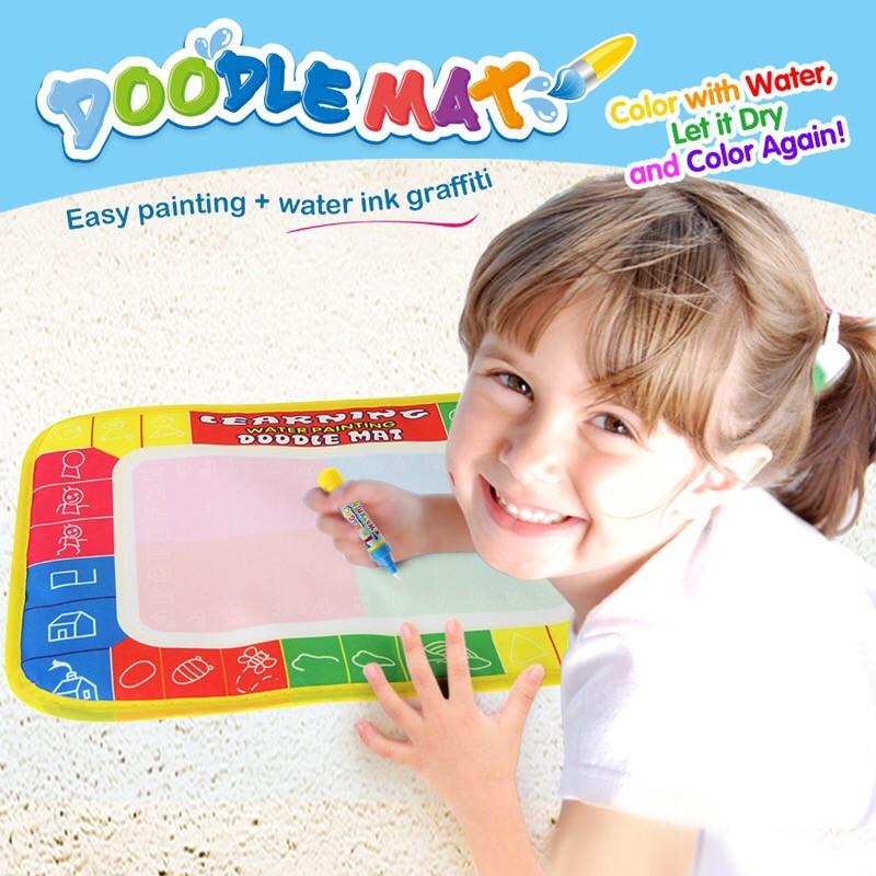 Vẽ Đồ chơi Nước Vẽ Thảm Thảm Tái sử dụng Bảng vẽ bằng Bút ma thuật Đồ chơi giáo dục sớm không độc hại cho trẻ em