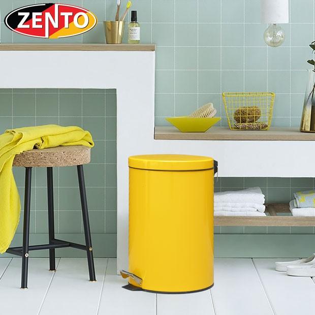 Thùng rác inox đạp chân Yellow 20L HC1250-20 - 21701467 , 2497871525 , 322_2497871525 , 695000 , Thung-rac-inox-dap-chan-Yellow-20L-HC1250-20-322_2497871525 , shopee.vn , Thùng rác inox đạp chân Yellow 20L HC1250-20