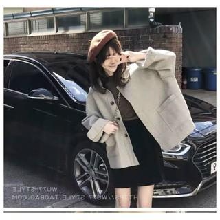 Áo khoác dạ Hàn Quốc