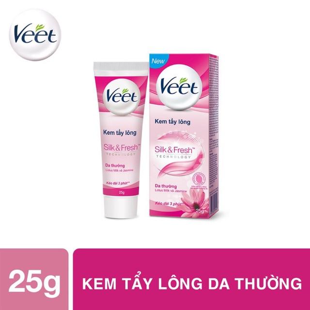 Tẩy Lông Veet 25g cho mọi loại da