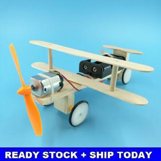 Electric Sliding Aircraft Small Production DIY Technology Small Invention Students Manual Materials