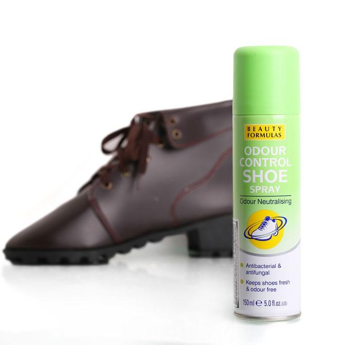 Xịt khử mùi giày Beauty Formulas Odour Control Shoe 150ml