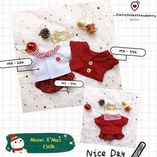 OUTFIT FOR DOLL – MOON X'MAS
