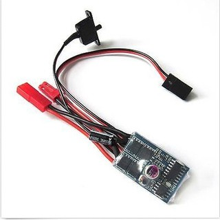 ESC 10A Brushed Motor Speed Controller for Rc Car 1/16, 1/18, 1/24