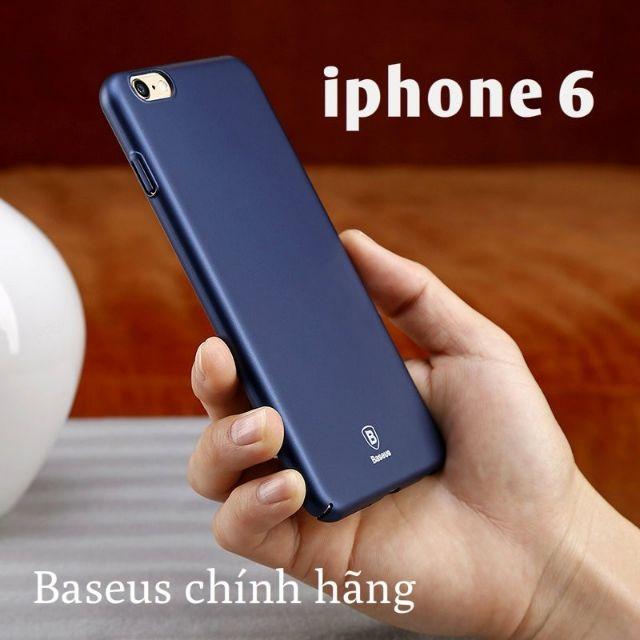 Ốp Baseus lụa nhám siêu mỏng IPhone 6/ 6S chính hãng - Nhiều màu
