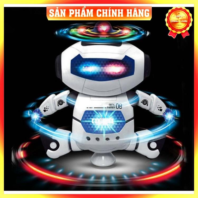 [FreeShip_Hàng Loại 1] Đồ chơi robot thông minh hát nhảy xoay 360 độ theo nhạc giúp bé yêu phát triển trí tuệ, nhạy bén