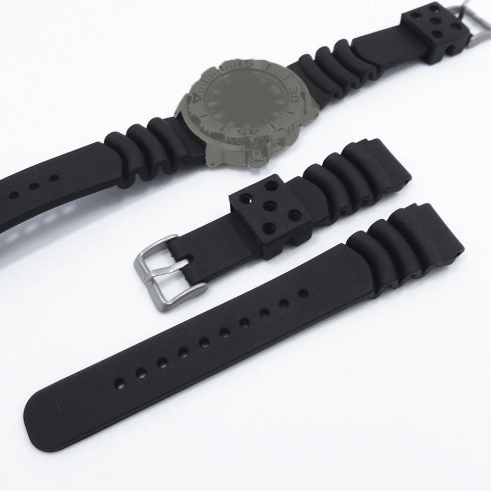 Dây đồng hồ đeo tay thay thế bằng silica gel